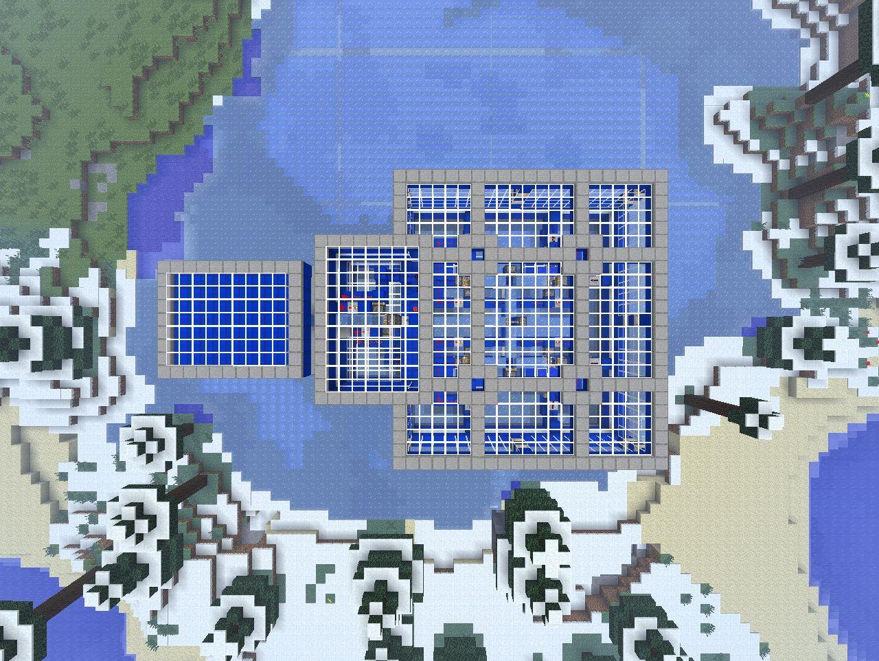 how to make ice blocks minecraft