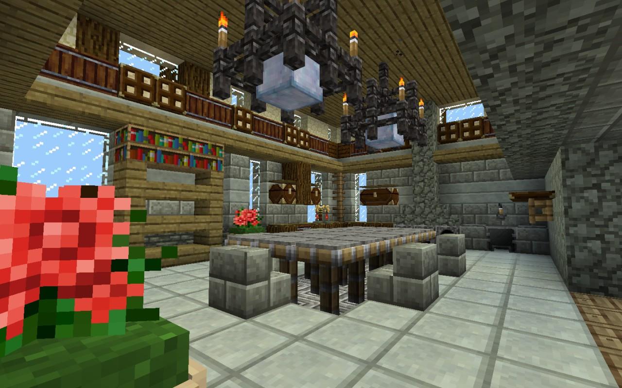 Minecraft Kitchen Minecraft Fancy Kitchen