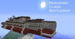 Steam Punk(ish) Airship Borodino Class Battleship Minecraft Map & Project