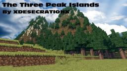 The Three Peak Islands Minecraft Map & Project