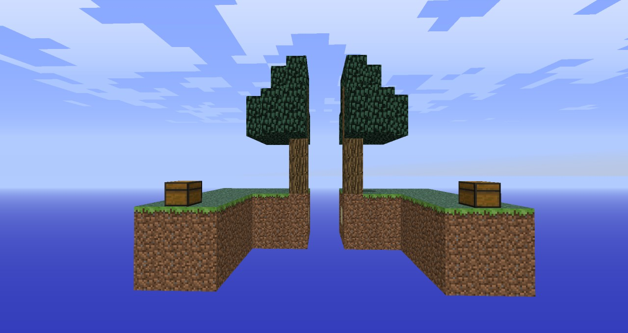 SkyBlock For Players Minecraft Project - Minecraft maps fur 2 spieler
