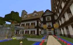 Manor in Castle district Minecraft Project