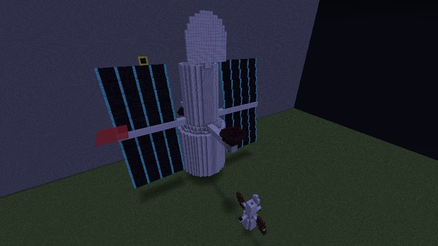 Hubble Space Telescope Minecraft Project