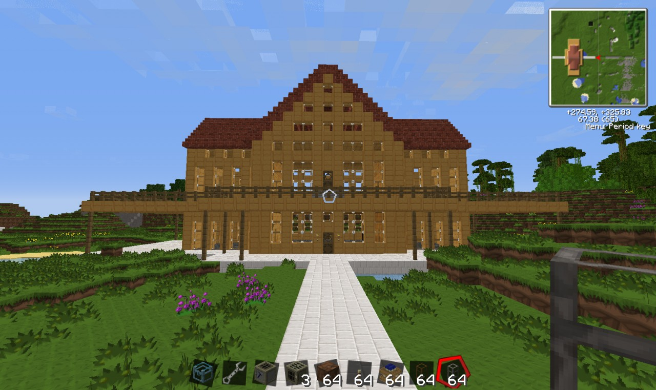Cool minecraft tekkit house and machinery minecraft project for The cool house