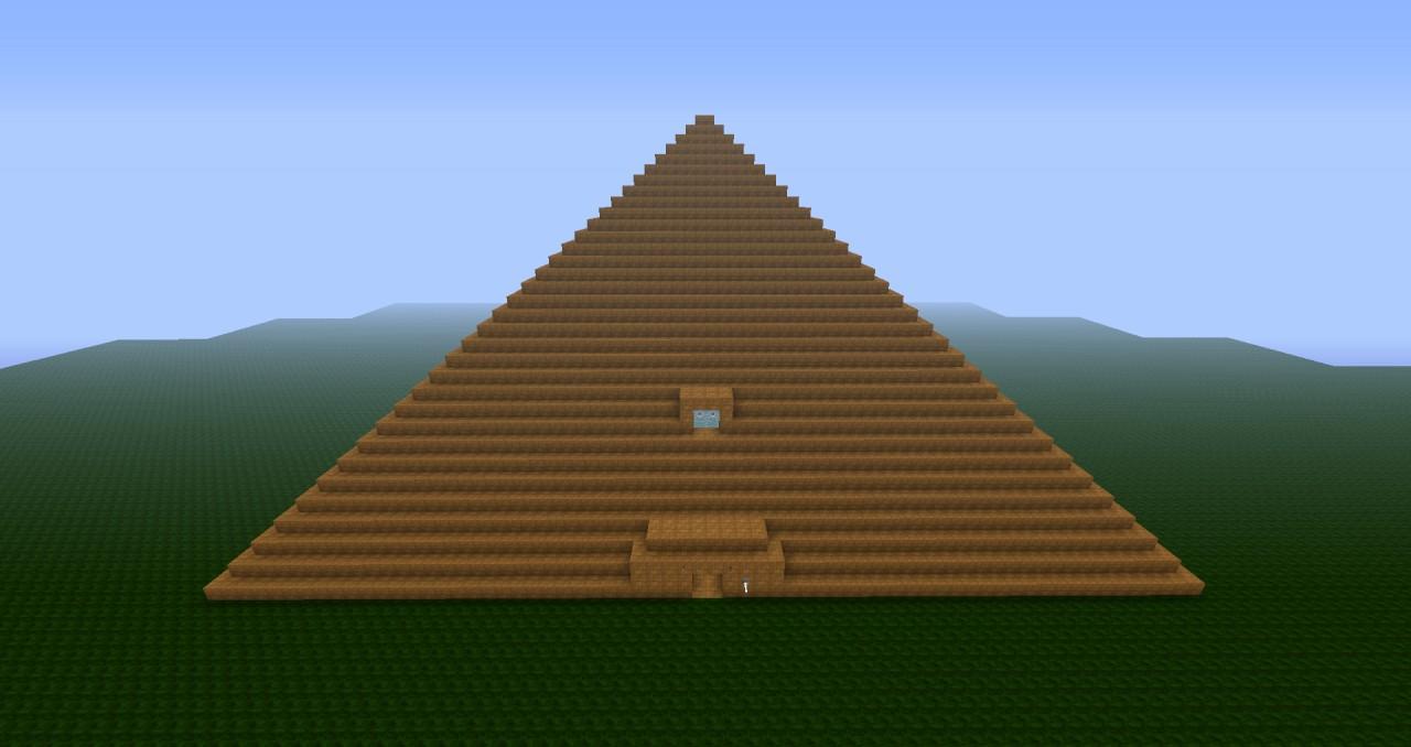 Pyramid Temple Minecraft Project