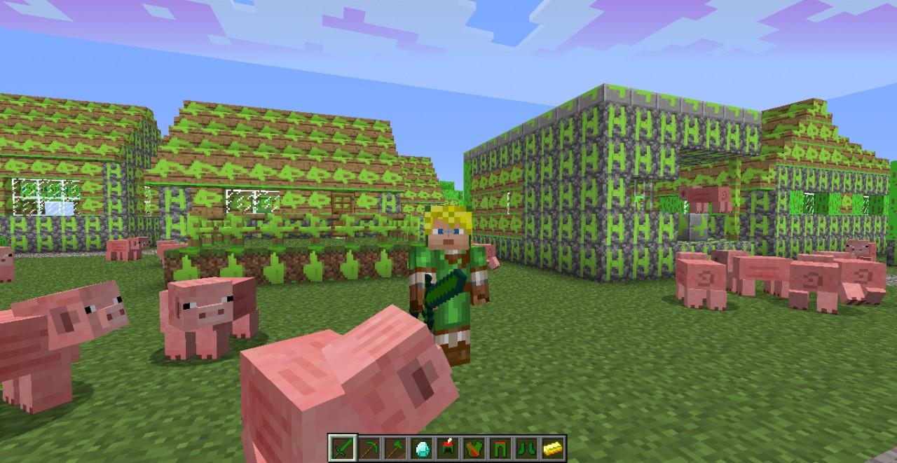 Legend of Zelda Minecraft Texture Pack