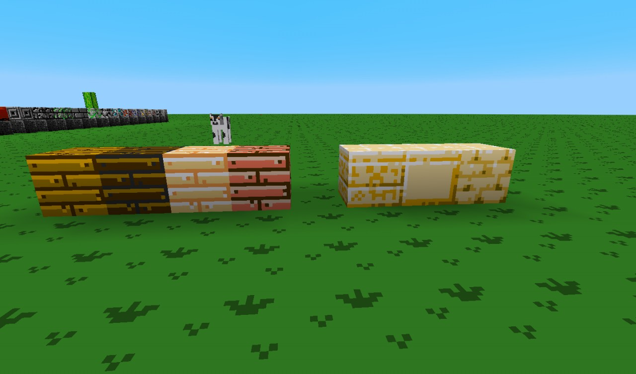 Updated Wood Planks.