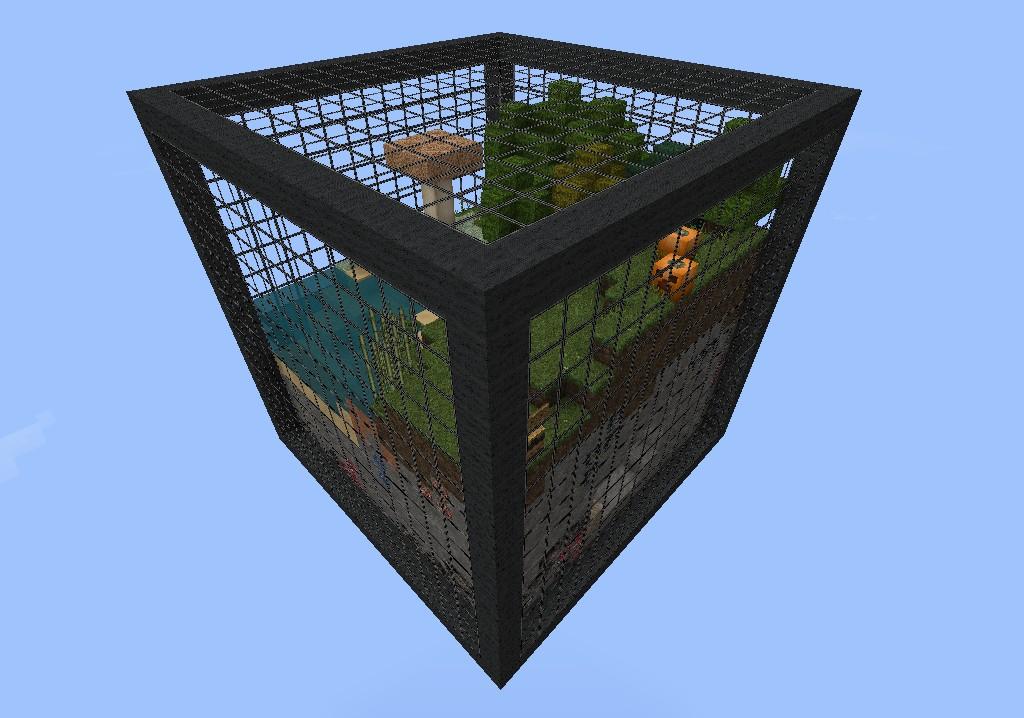 Карта - Cubes Survival - выживаем в кубах