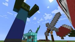 art! pixel and 3D! Minecraft Map & Project