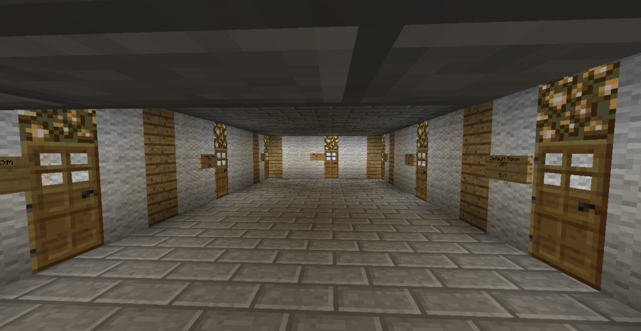 Smp Hotel For Spawn Minecraft Project