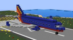 Southwest Airlines [Boeing 737-800] Minecraft Map & Project