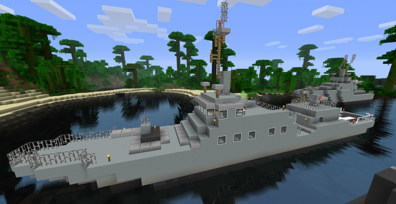 minecraft how to build a boat
