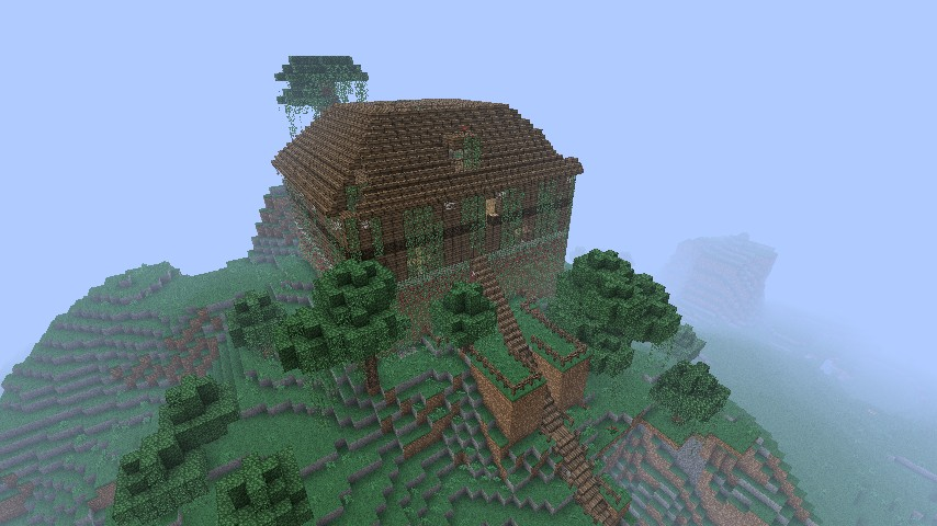 Old haunted house on the hill minecraft project - House on the hill 2012 ...