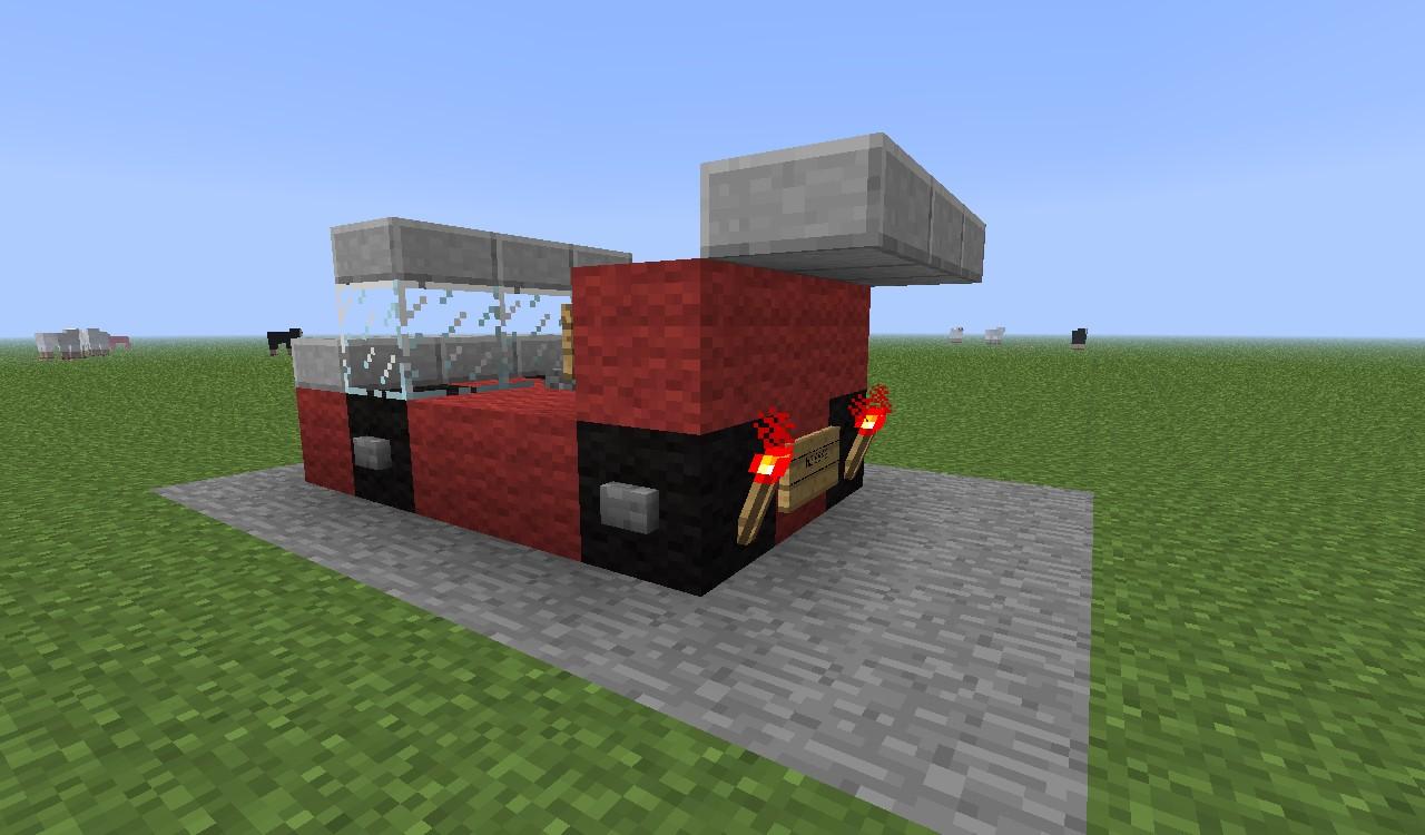 Minecraft Cars Mod