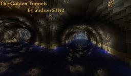 The Golden Tunnels Minecraft Map & Project