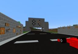 Giant Raceway for vehicle mods Minecraft