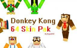 Donkey Kong 64 Skin Pak (50 Sub Special) Minecraft Blog