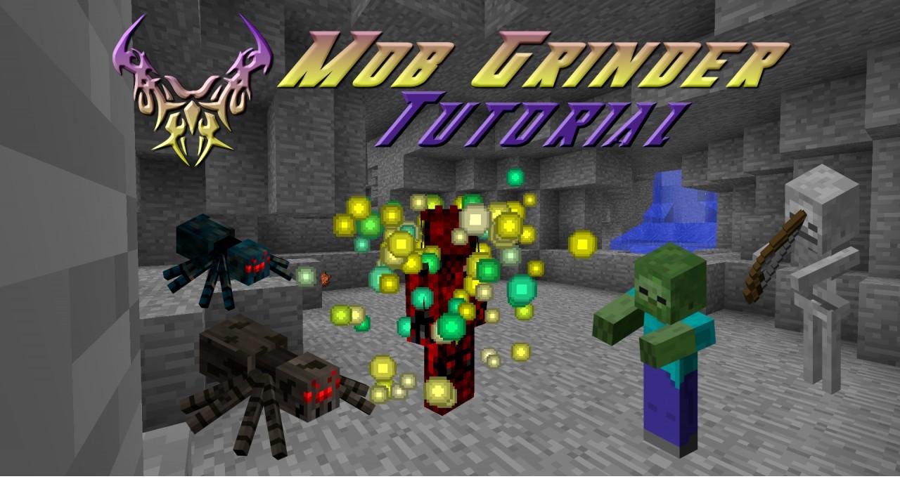 how to make a skeleton mob grinder