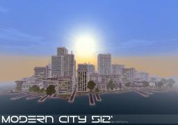 Modern City 512'[Download] Minecraft Map & Project