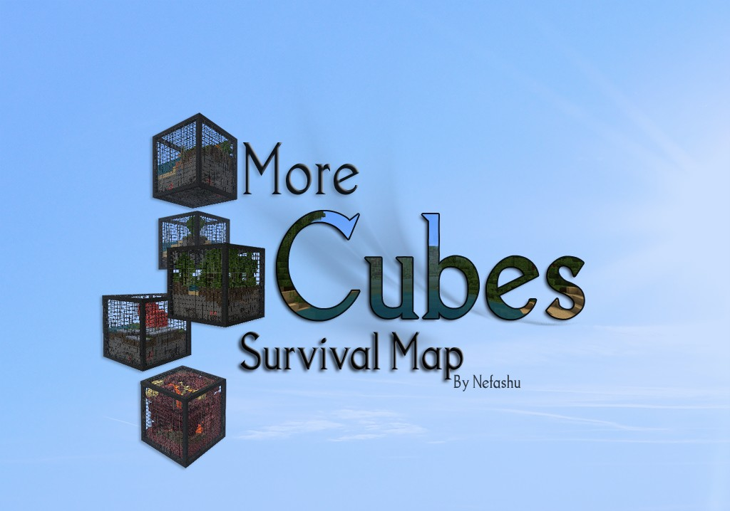 Cubes Survival Minecraft Project - Micro cubes map para minecraft 1 8 descargar