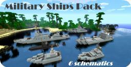 Military Ships Pack - 6 Schematics! + SUBMARINE Minecraft