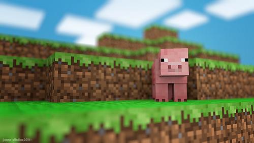 Pig slots minecraft