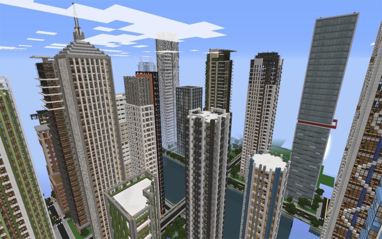 A view from New Crafton (the cities are quite close to each other, separated by the river)