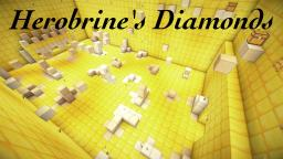 Herobrine's Diamonds Adventure Map 1.6