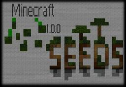 Minecraft 1.0.0 Seed Collection Minecraft Blog