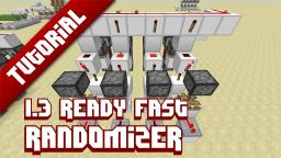 Fast/compact randomizer - 1.3 ready Minecraft Map & Project