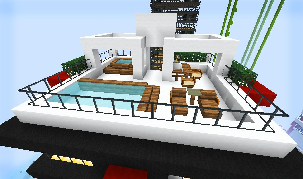 La Voile Rouge Hotel Minecraft Project