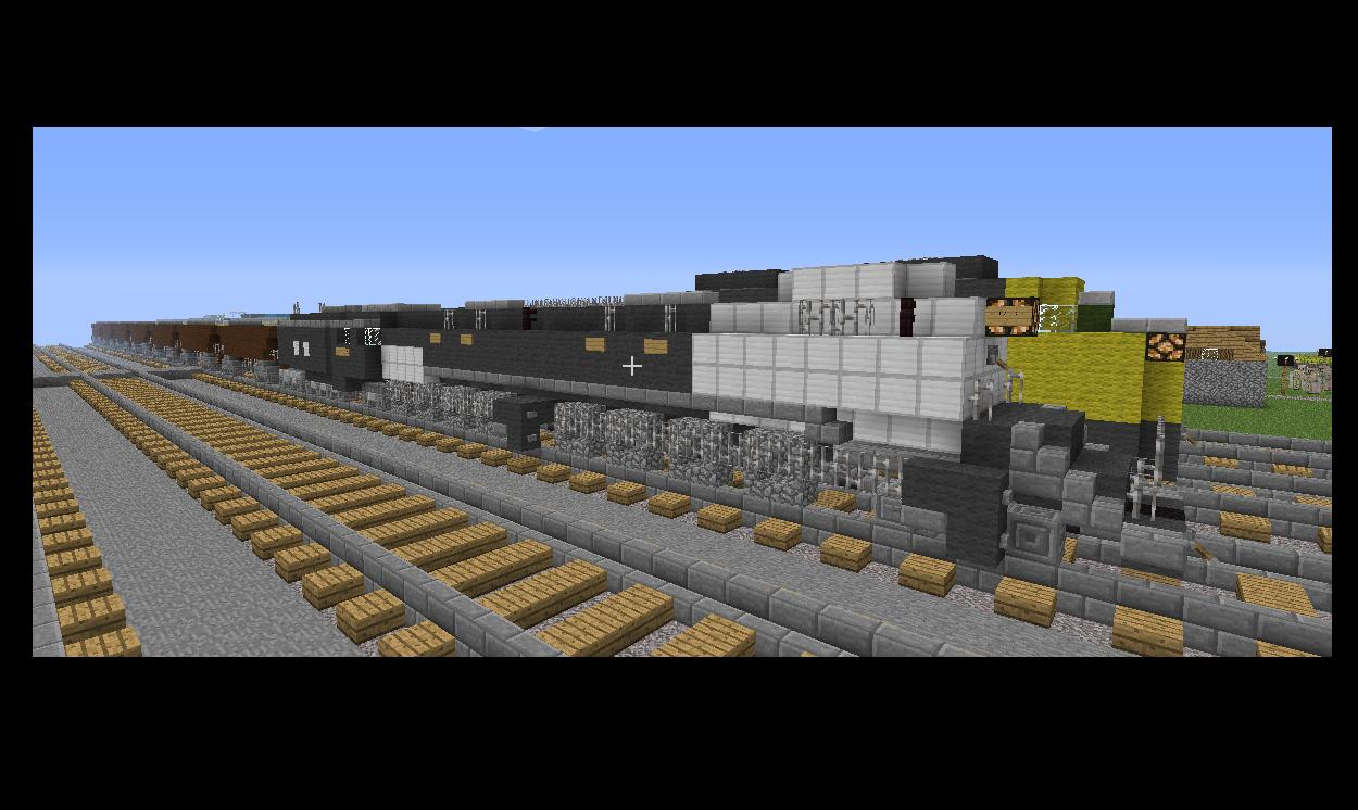 car boy photo ideas - my train collection Minecraft Project