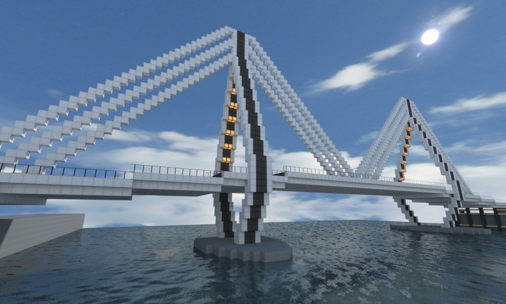Guntana Bridge Minecraft Project