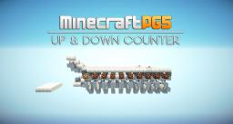 Up & Down Counter with Reset Minecraft Map & Project