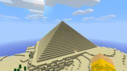 Pyramid Adventure Challenge Minecraft Map & Project