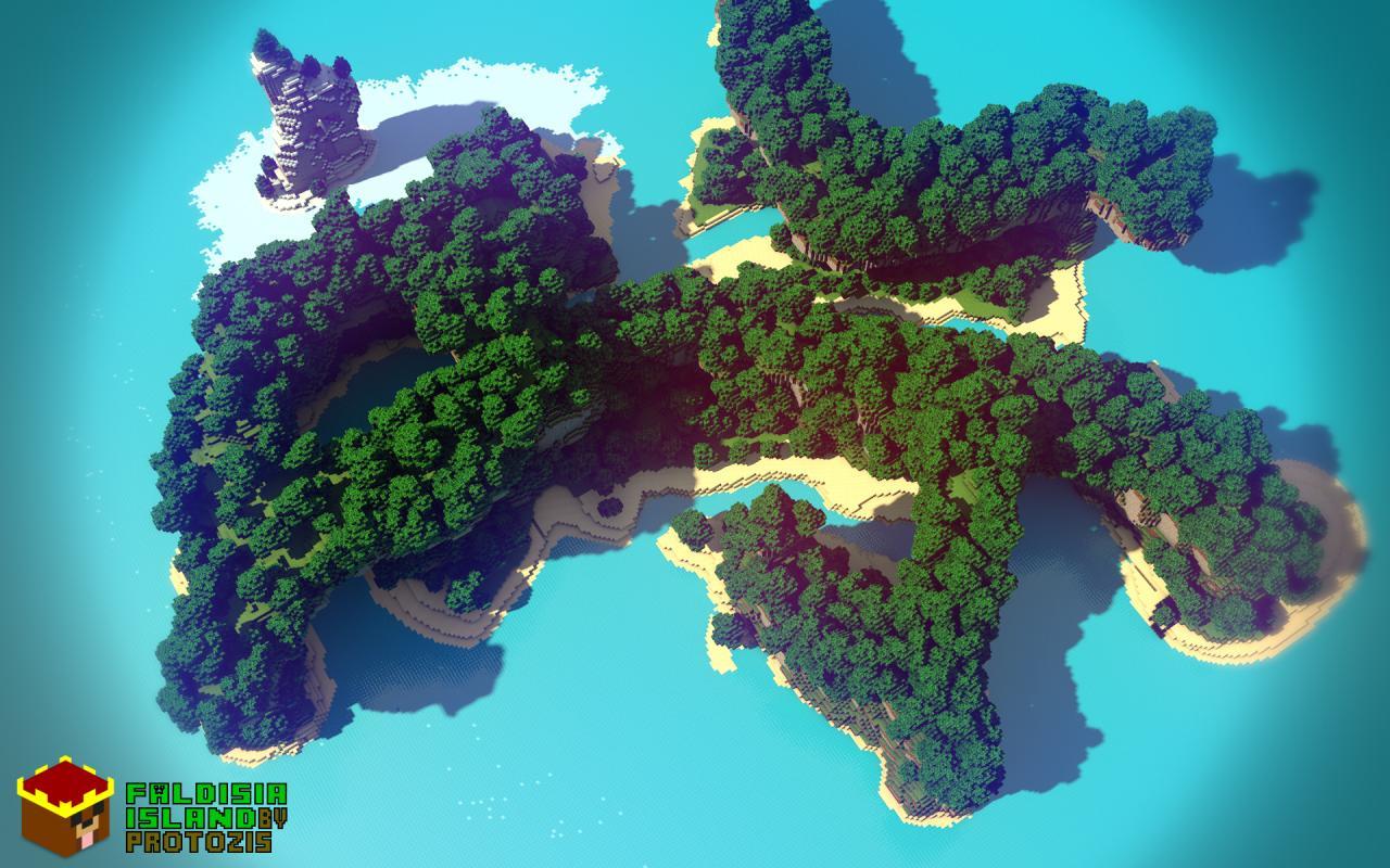 Faldisia Island Minecraft Project