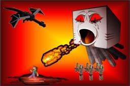 Origin of Dracoman355 Part 2 Minecraft Blog Post