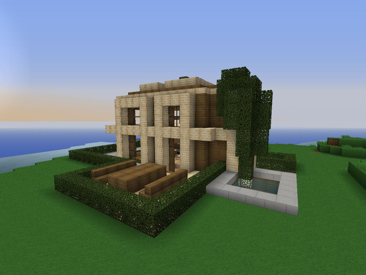 Minecraft Modern House 1 Minecraft Project