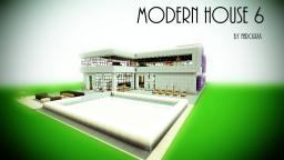 Modern House 6~[Update 4] Minecraft Project