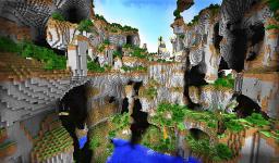 Mountains Lands [Epic custom terrain] Minecraft