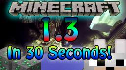 Minecraft 1.3 - 30 Second Challenge!
