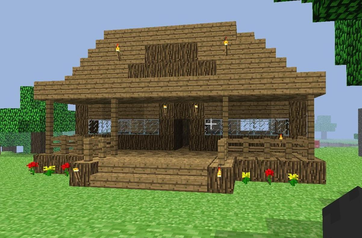 Minecraft Roof Designs For Oak House