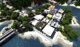 Modern Neighborhood on World of Keralis Minecraft Map & Project