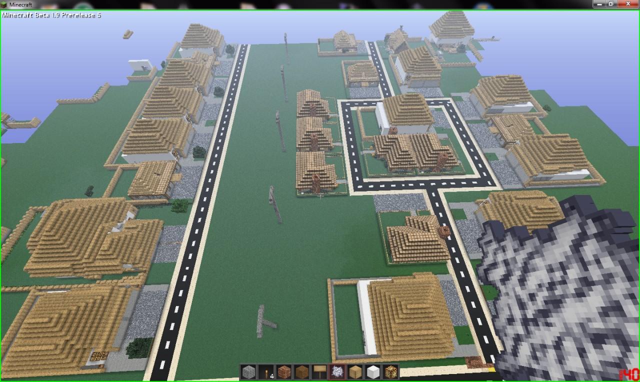 My Neighborhood, fully explorable, over 100 houses ...