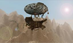 Dagger of Ibelin - Gypsy desert airship Minecraft Project