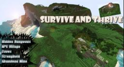 Survive and Thrive! Series (1) The Beginning Minecraft Map & Project