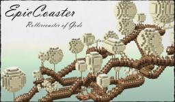 EpicCoaster - Rollercoaster of Gods Minecraft Map & Project