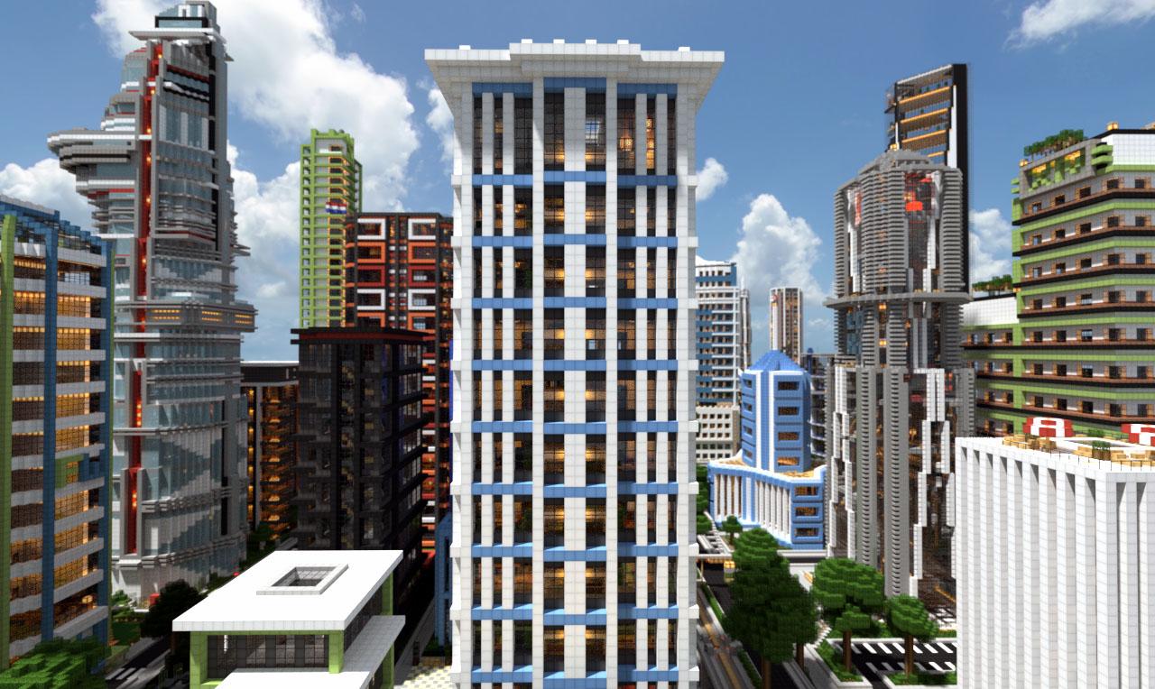 Modern Skyscraper on World of Keralis Minecraft Project - ^