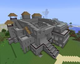 Medieval living district Minecraft