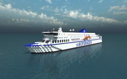 BC Ferries MV Northern Expedition Minecraft